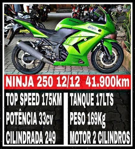 Ninja 250 12/12 - 2012