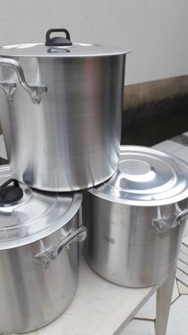 Caldeirão de alumínio pra restaurantes - Foto 2