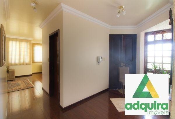 Casa sobrado com 4 quartos - Bairro Jardim Carvalho em Ponta Grossa - Foto 3
