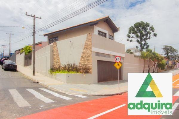 Casa sobrado com 4 quartos - Bairro Jardim Carvalho em Ponta Grossa