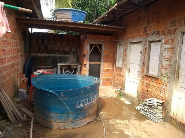 Vendo casa, ou negocia pega carro chácara no negócio - Foto 2