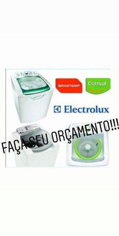 Conserto de máquinas lavar, instalação e manutenção split serviço com garantia - Foto 2