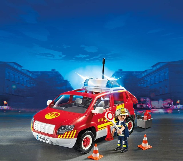Playmobil 5364 - Fire Chief's Car with lights & sound - Foto 2