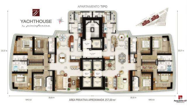 Apartamento Yachthouse Balneário Camboriú em 100 X - Foto 19