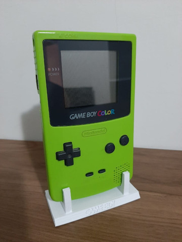 Game Boy Color - Suporte para o console