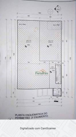 Sala para alugar, 150 m² por R$ 2.500,00/mês - Morada de Laranjeiras - Serra/ES - Foto 11