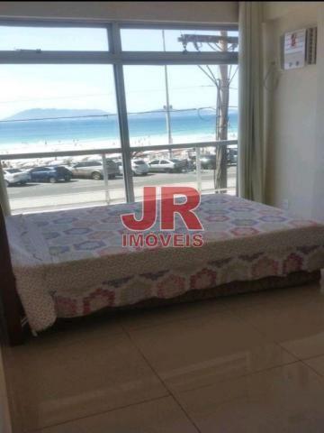 Apartamento 03 quartos, vista privilegiada, frente Praia do Forte. Cabo Frio-RJ - Foto 2