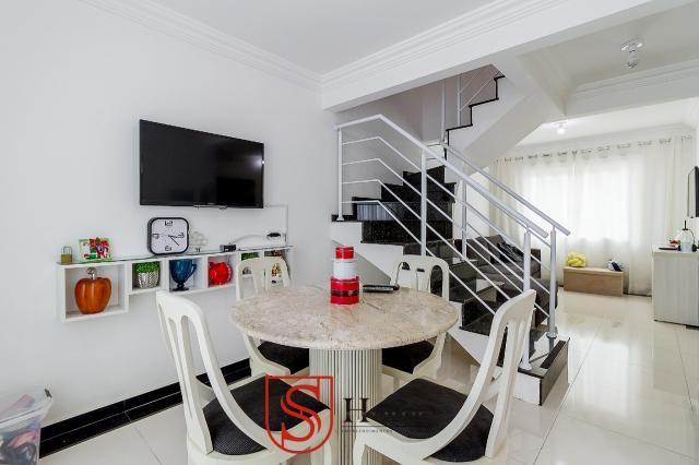Sobrado triplex 3 quartos e 2 vagas para aluguel no Boqueirão em Curitiba - Foto 7