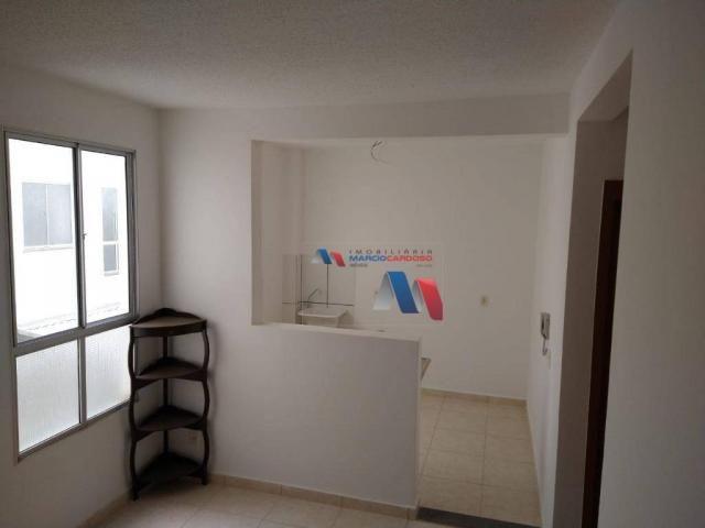 Apartamento com 2 dormitórios à venda, 50 m² por R$ 140.000,00 - Rios di Itália - São José - Foto 12