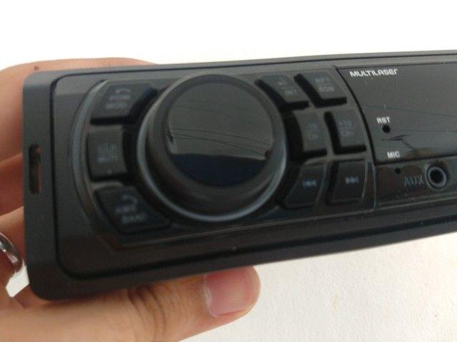 Rádio Multilaser, bluetooth, USB, P2, e cartão  - Foto 3
