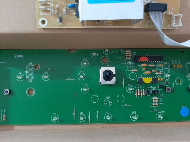 Placa interface+potência para máquina de lavar Brastemp.  - Foto 3