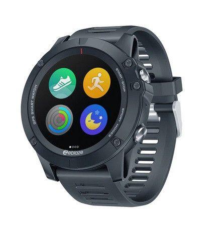 Zeblaze vibe 3 gps smartwatch freqüência cardíaca multi modos de esportes à prova água