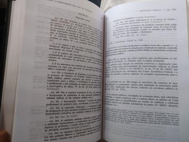 LIVRO Comentários à Consolidação das Leis do Trabalho - Foto 4