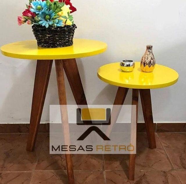 MESAS RETRÔ ARTESANAL - Foto 2
