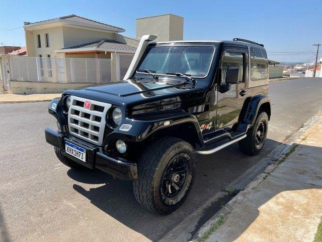 Troller 3.0 Turbo diesel 4x4 ano 2009 / Conservado original aceito trocas financio 60x - Foto 6