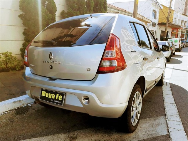 Renault Sandero Expression 1.6 Flex Prata Completo Doc Ok - Foto 8