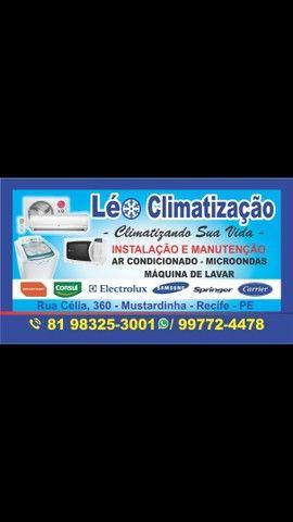 Conserto e instalação de ar condicionado/conserto em máquina de lavar e tanquinho.
