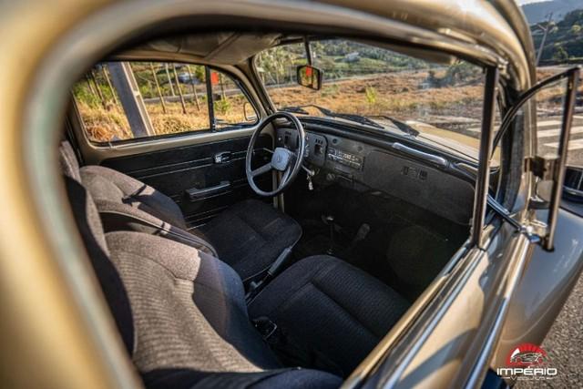 chegou o seu clássico 1985 vw fusca 1600 Original a álcool - Foto 13