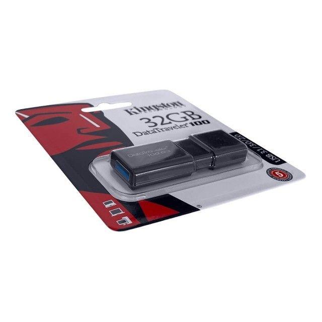 Pendrive Datatraveler 100 G3 DT100G3 Kingston 32GB - Foto 3