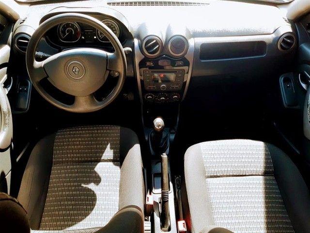 Renault Sandero Expression 1.6 Flex Prata Completo Doc Ok - Foto 3