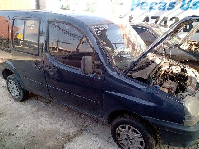 Fiat Doblo fire EX 1.3 16v 2003 Peças - Foto 5