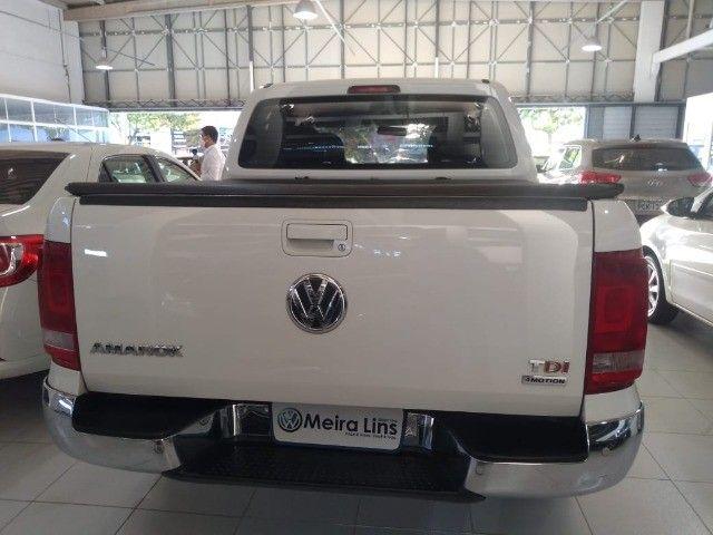 Amarok Highline 4X4 CD 2012 Automática  Diesel - Foto 6