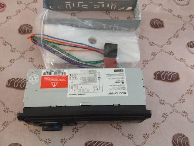 Rádio Multilaser, bluetooth, USB, P2, e cartão  - Foto 5