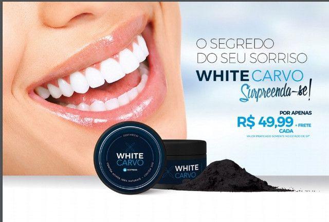 White Carvo Mint e Natural - Seus Dentes Muito Mais Brancos - Foto 2