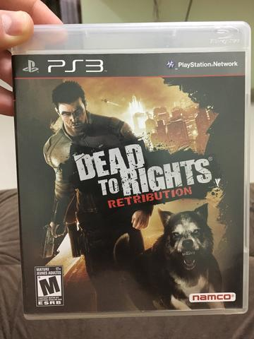 Jogo para Ps3 Dead to Rights