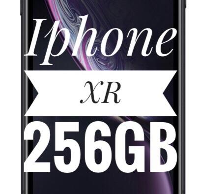 IPHONE XR 256GB - Preto - Novo