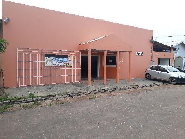 Um galpão e uma casa no brasil novo