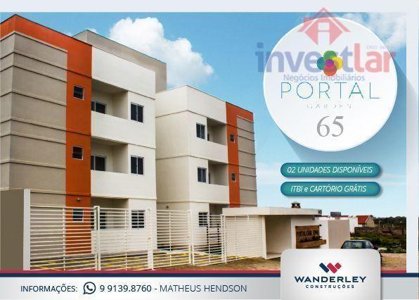 Apartamento residencial à venda, Portal Sudoeste, Campina Grande.
