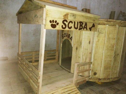 PET DOG HOUSE ( casa para cachorro)