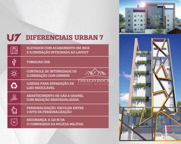 Cobertura duplex com 2 dormitórios à venda, 102 m² por r$ 440.000 - centro - são josé dos  - Foto 5