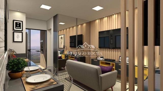 Studio com 1 dormitório à venda, 30 m² por r$ 140.900 - são pedro - são josé dos pinhais/p - Foto 4