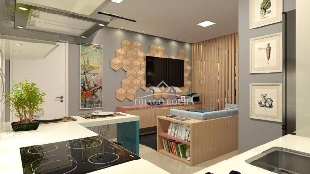 Studio com 1 dormitório à venda, 39 m² por r$ 189.000 - são pedro - são josé dos pinhais/p - Foto 7