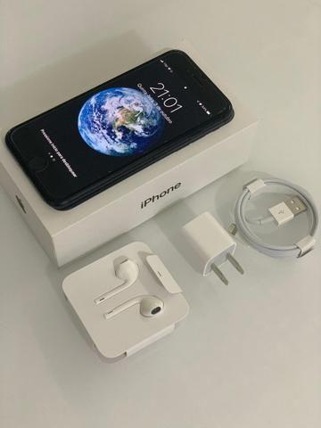 Iphone 7 128GB Preto Fosco - Usado em excelente estado