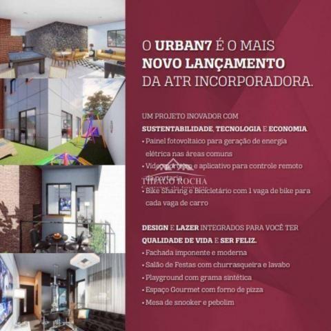 Cobertura duplex com 2 dormitórios à venda, 102 m² por r$ 440.000 - centro - são josé dos  - Foto 13
