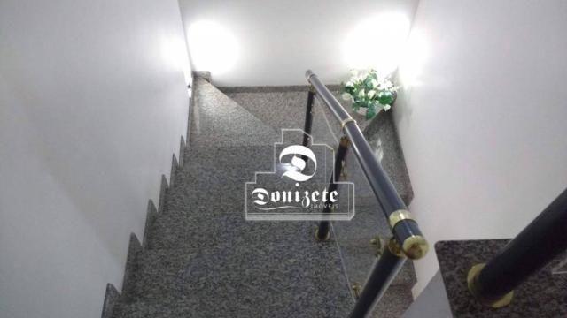 Sobrado à venda, 340 m² por r$ 1.100.000,00 - santa maria - santo andré/sp - Foto 12