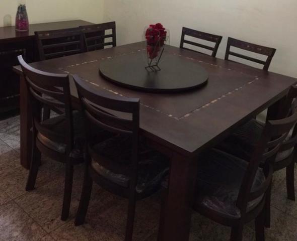 Mesa de Jantar de Madeira - Foto 4