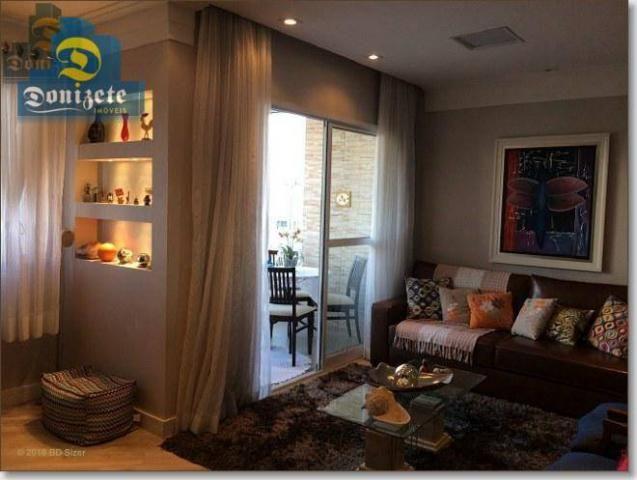 Apartamento com 3 dormitórios à venda, 89 m² por r$ 590.000,10 - cerâmica - são caetano do - Foto 4
