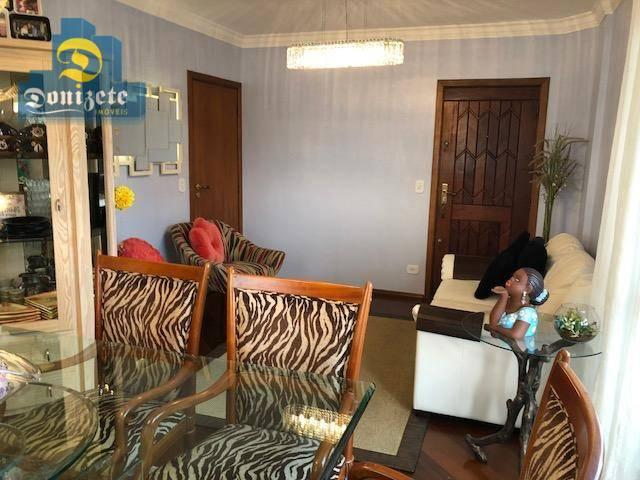 Apartamento com 3 dormitórios à venda, 150 m² por r$ 550.000,01 - vila bastos - santo andr - Foto 3
