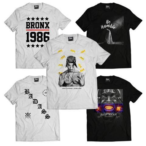 1e722c96ab505 Camisetas Masculinas Hip Hop Rap Swag Original - Roupas e calçados ...