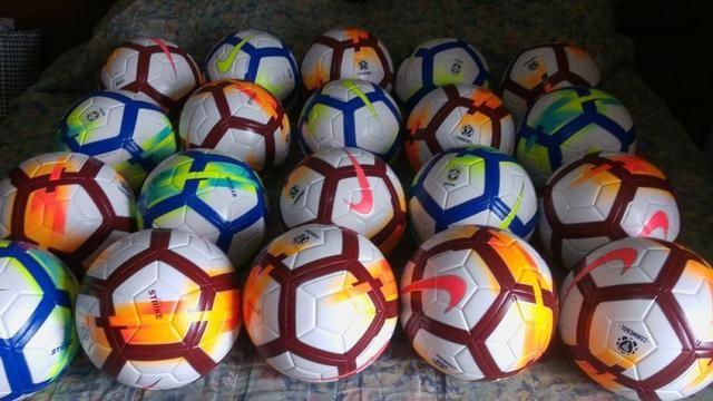 61365a2b1e662 Bola de campo Nike Strike e Bola Nike Ordem Copa Libertadores e Brasileirão