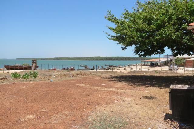 Terreno de 4.800 m² frente ao mar próximo ao quebra mar(Porto do Dandao) Luiz Correia - Pi