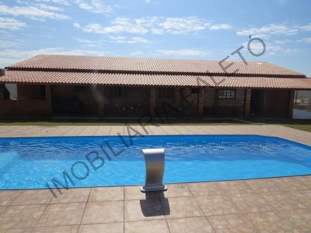 REF 225 Chácara 1187 m², casa novinha, ampla piscina, Imobiliária Paletó - Foto 7