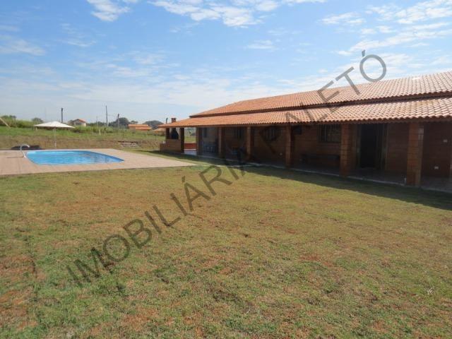 REF 225 Chácara 1187 m², casa novinha, ampla piscina, Imobiliária Paletó - Foto 17