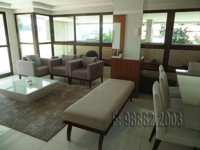 Apartamento 105m, 3/4, 2 vagas, andar alto, Capim Macio, Natal, RN - Foto 10