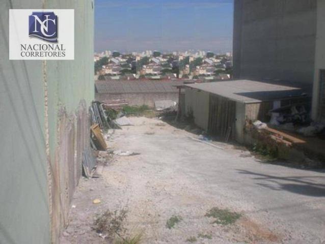 Terreno à venda, 603 m² por r$ 1.300.000 - parque das nações - santo andré/sp - Foto 9