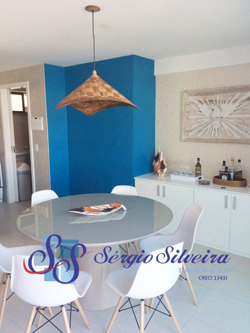 Cobertura duplex mobiliada no Mediterranée Residence no Porto das Dunas com 3 suítes - Foto 4